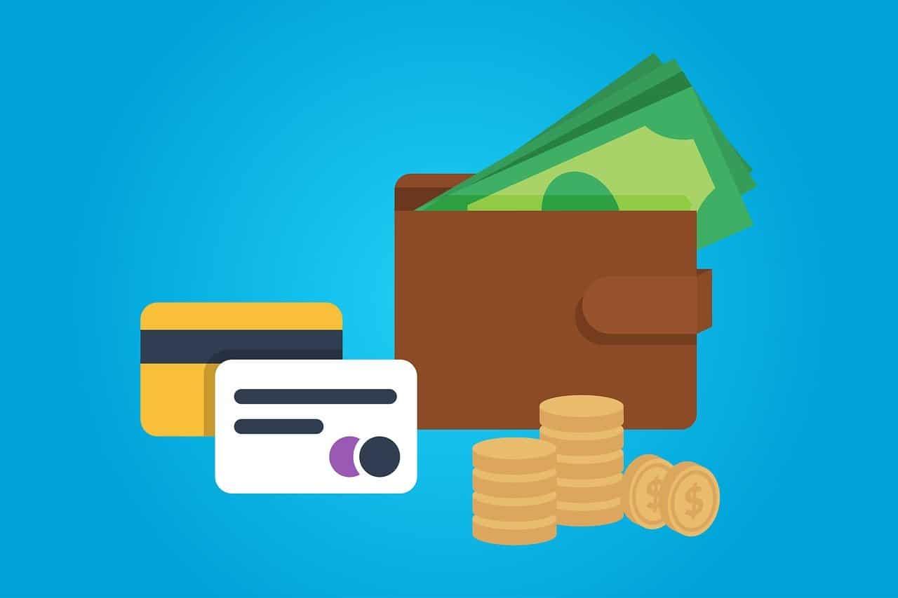 ארנק, שטרות, כסף וכרטיסים
